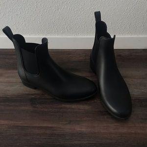 Shoes - Black Chelsea Rain boots